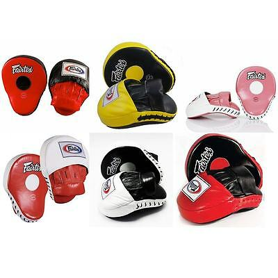 FAIRTEX FMV9 TRAINING BOXING MMA MUAY THAI K1 The Ultimate Contoured Focus Mitts