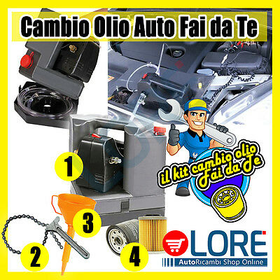 KIT TAGLIANDO CAMBIO OLIO FAI DA TE Ford Tourneo Connect/Grand Tourneo