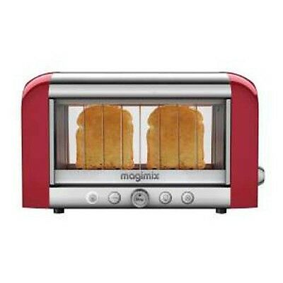MAGIMIX TOSTAPANE Le Toaster Vision Rosso SENZA PINZE 11540