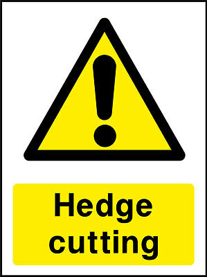 Hedge Cutting Signs