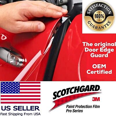 3M 4 Door Edge Guard Paint Scratch Protection Film. Clear, Invissible, Effective