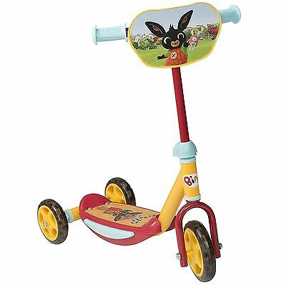 Bing 3-Wheel Childrens Scooter Kids Fun Acitivity Outdoor Toy, Ideal 1st Scooter