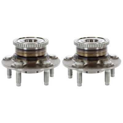 New Rear Pair Wheel Hub Bearing Assembly Set for a Ford Taurus Mercury Sable
