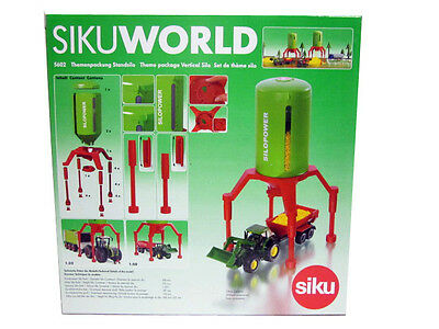 Siku World 1:32+1:50 Accessori In Plastica Silo Verticale Art 5602
