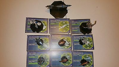 Star Wars Miniatures Starship Battles 9 Mini Slave 1 Commerce Destroyer Virago