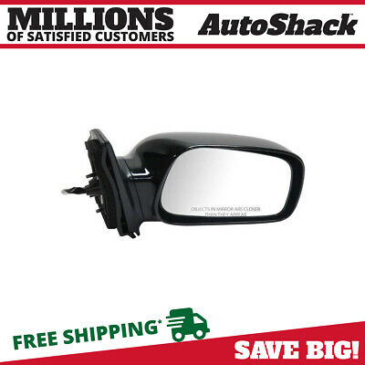 New Power Mirror Black Passenger Right RH fits 03-08 Toyota Corolla