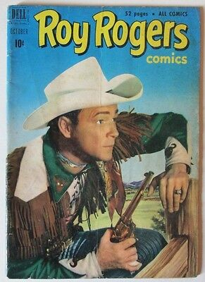 Roy Rogers Western Comic #46 Dell 1951