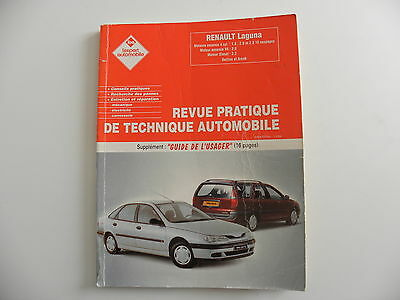 Revue technique automobile RTA Renault LAGUNA berline et break