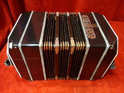 Alfred Arnold Bandoneon 64 Key AA Black Made in Germany