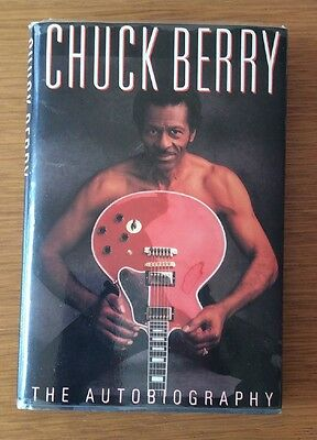 Chuck Berry - The Autobiography - Faber 1st edition hardback