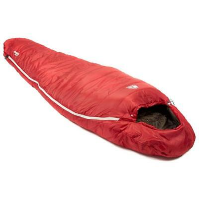 Eurohike Down 500 Mummy Sleeping Bag Red One Size Red