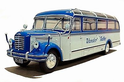 BUS COLLECTION Altaya 1/43 49 - Le Borgward BO 4000 - 1952