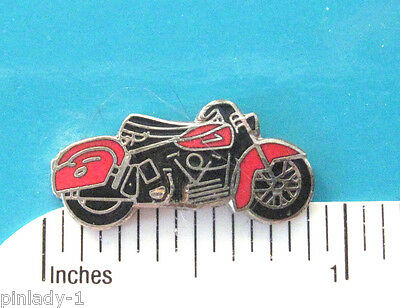 MOTORCYCLE   - hat pin , tie tac , lapel pin  hatpin  GIFT BOXED