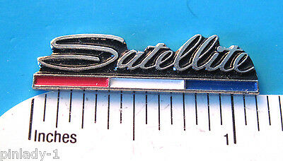 Plymouth  SATELLITE   - hat pin , lapel pin , tie tac , hatpin GIFT BOXED