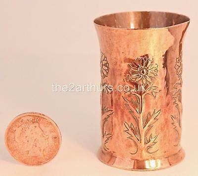 Keswick Ksia Miniature Copper Vase Arts And Crafts Antiques