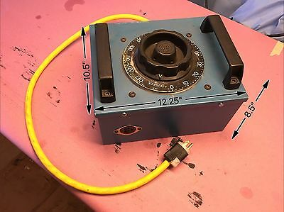 General Radio VARIAC V20, 120V 50/60 Hz In, 0-140V Out, 20 Amps, Tested Good