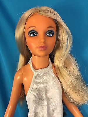 """Tuesday Tiffany Taylor 18"""" Ideal Doll Vintage 1973 Flip 2 tone Hair blond brown"""