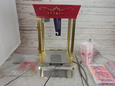 Great Northern Popcorn Red Matinee Movie Theater Style 8 oz Machine See Details
