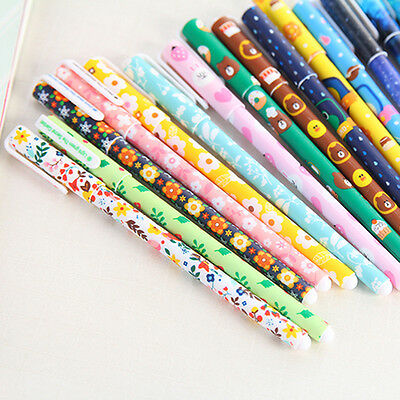 6pcs/lot 0.38mm Cute Watercolor Pen Gel Pens Set Color Kandelia Stationery