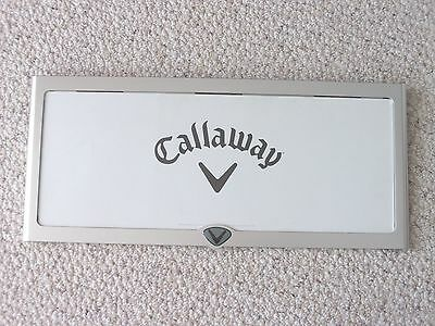 Callaway Golf Store Display Sign for Golf Clubs Single Sided, Man Cave