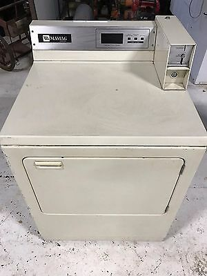Maytag MDE26PCACL Commercial Coin Operated Front Load Dryer - Coin Laundry