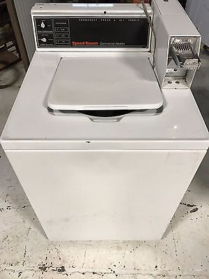 Speed Queen Commercial Top Load Washer Coin Drop Installed 120V