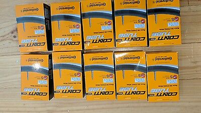 Continental Race 28 Road Bike Tubes 700C 25/32mm 42mm Valve x10 Pack BRAND NEW