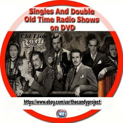 1341 Mp3 Singles and Doubles Audio Books Listen  Old Time Radio Show 4 DVD