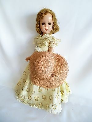 "GORGEOUS!!! ALL ORIGINAL Vintage 18"" Southern Girl Arranbee Composition Doll"