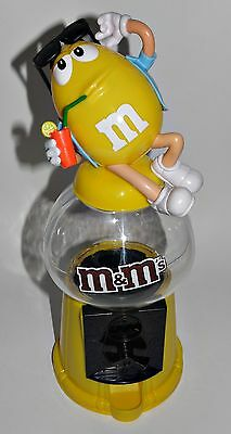 m&m Spender Kaugummiautomat Figur Yellow Cocktail Hawai Hemd M&M´s 30 cm Gelb a