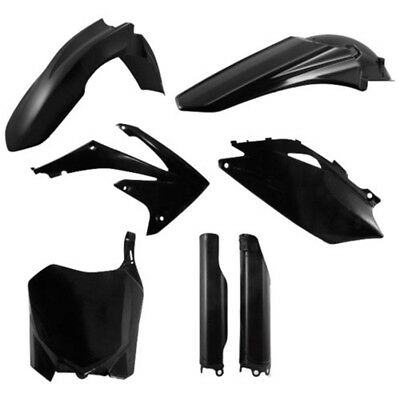 Acerbis - 2198000001 - Black Full Plastic Kit 2009-2013 Honda CRF250R/450R