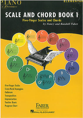 Piano Adventures - Scale and Chord Book 1 - Nancy & Randall Faber - FF3024