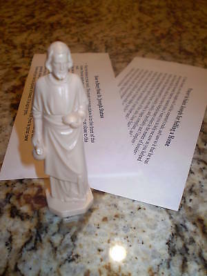NEW St Joseph Statue Home Seller Selling Kit Saint House Figurine & Instruction