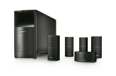 New - BOSE Acoustimass 10 Surround Sound Speakers - FREE SHIPPING - 5.1 - Black