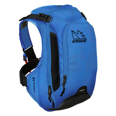 Uswe - Airborne-15 (Blue) - 3L Hydration & 12Ltr Cargo With New Shape Bladder!