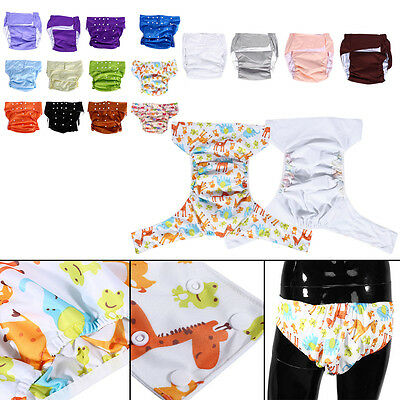 Waterproof Teen Adult Cloth Diaper Nappy Pants Bedwetting  Incontinence Pants g1