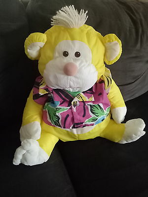 Fisher price pufferlump monkey 1987