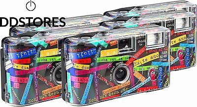 TopShot Lot de 5 appareils photo jetables I mog di pour 27 photos avec flash...