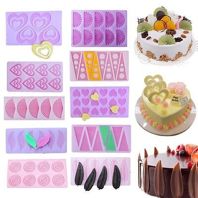 Silicone Cake Decorating Mold Fondant Chocolate Candy Baking Sugarcraft Mould