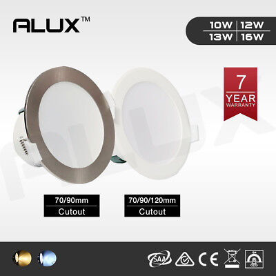 10W /12W Dim /Non-Dim Led Downlight Kit Warm/Daylight White Ip44 Flat/Concave