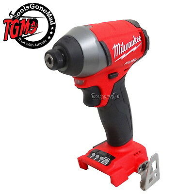 """Milwaukee M18Fid-0 18V Fuel Brushless 1/4"""" Hex Drive Impact Driver Not Imported"""