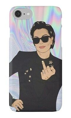 New KRIS JENNER ATTITUDE For iPhone 5c 5s 5 6 6s 6s+ 7 7+ Hard Case Cover