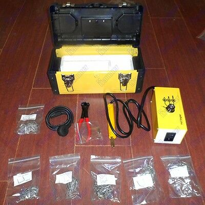 220V AU stand Hot stapler plastic welding system machine plastic repair kit