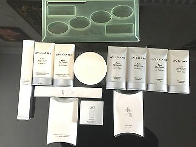 Bvlgari Eau Parfumee au the blanc Soap 150g Hair & Body Pamper Gift Set