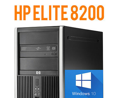 DESKTOP HP ELITE 8200 TOWER - Intel Core i3-2100 3.10GHz - 8GB DDR3 - 250GB HDD