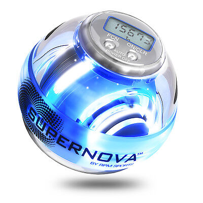 Powerball Supernova For Forearm Workouts & Strength Training Without Dumbbells