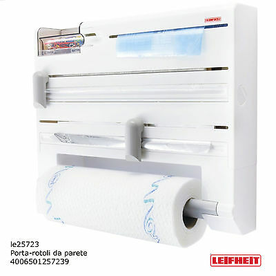 Leifheit Parat 25723 toilet paper holder portascottex aluminum cooking helpful