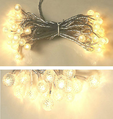 Lights for party and christmas garland light 40 balls led effect diamond