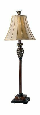 Kenroy Home 20182GR Iron Lace Buffet Lamp Golden Ruby Browns / Beiges New
