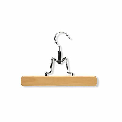 Honey-Can-Do International HNGZ01221 Wooden Pant Hanger with Clamp 16-Pac... New